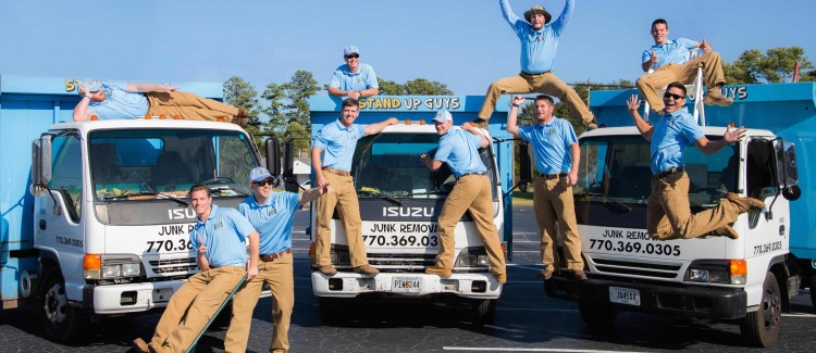 Stand up guys junk removal company in Marietta