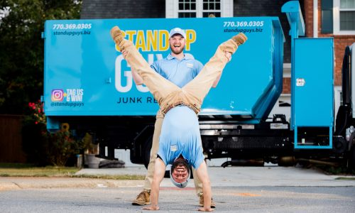 two junk removal employees in palm harbor florida