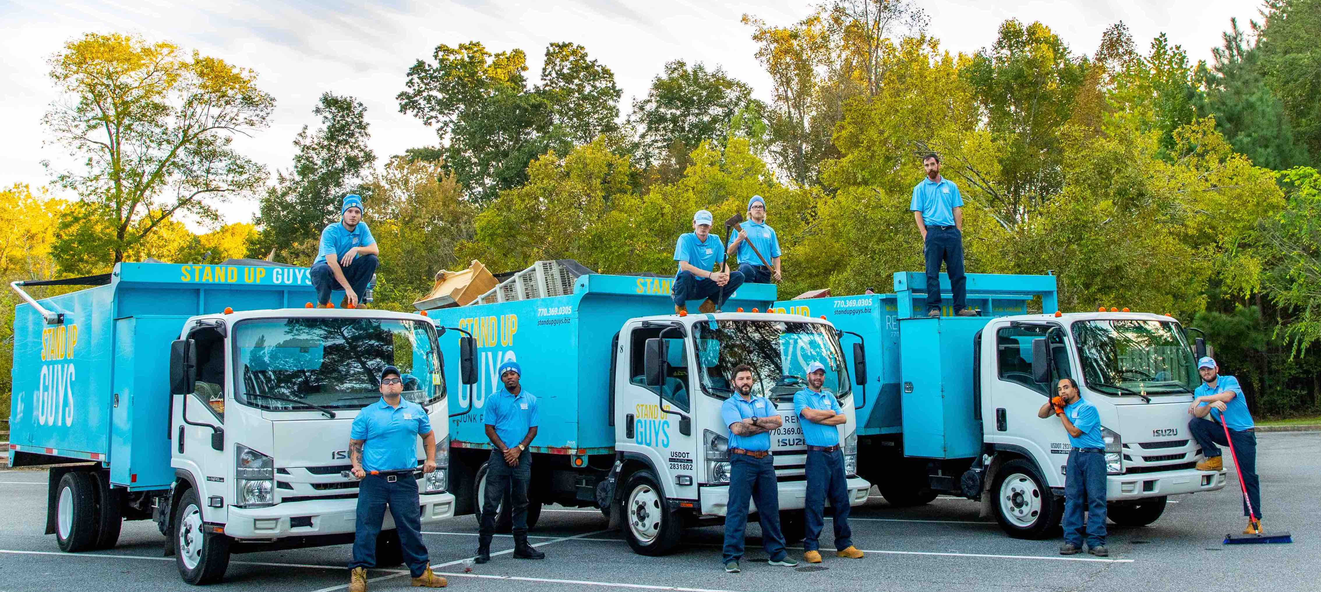Pinellas County junk removal crew copy