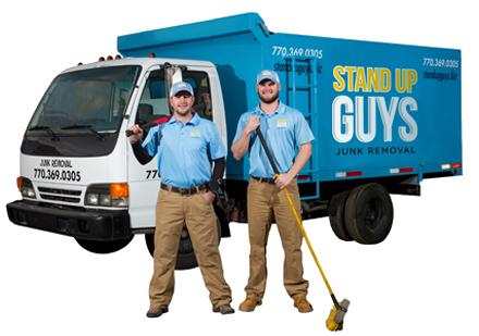 Haulin' & Ballin' Standupguys Junk Removal Truck