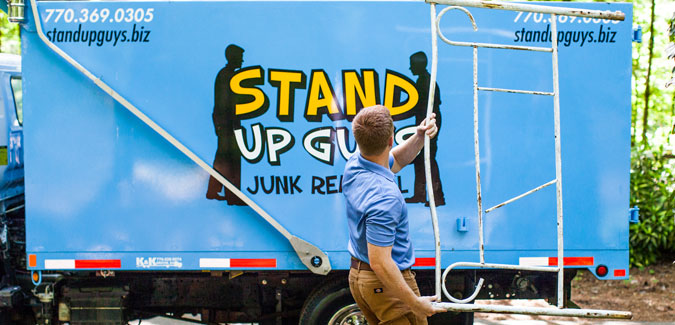 Stand Up Guy, Casey Walsh, Recycling Scrap Metal