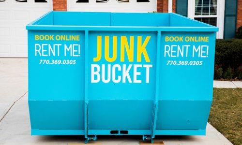 junk bucket dumpster in roswell