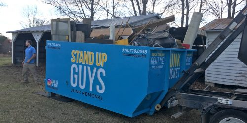 dumpster rented out in brentwood tennessee