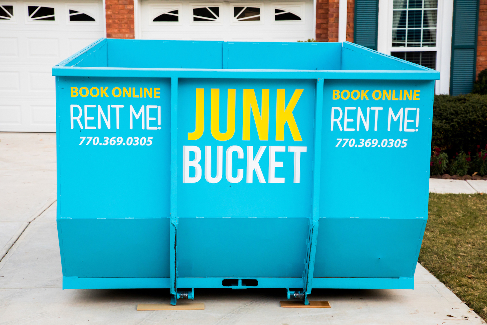 trash container rental in roswell ga