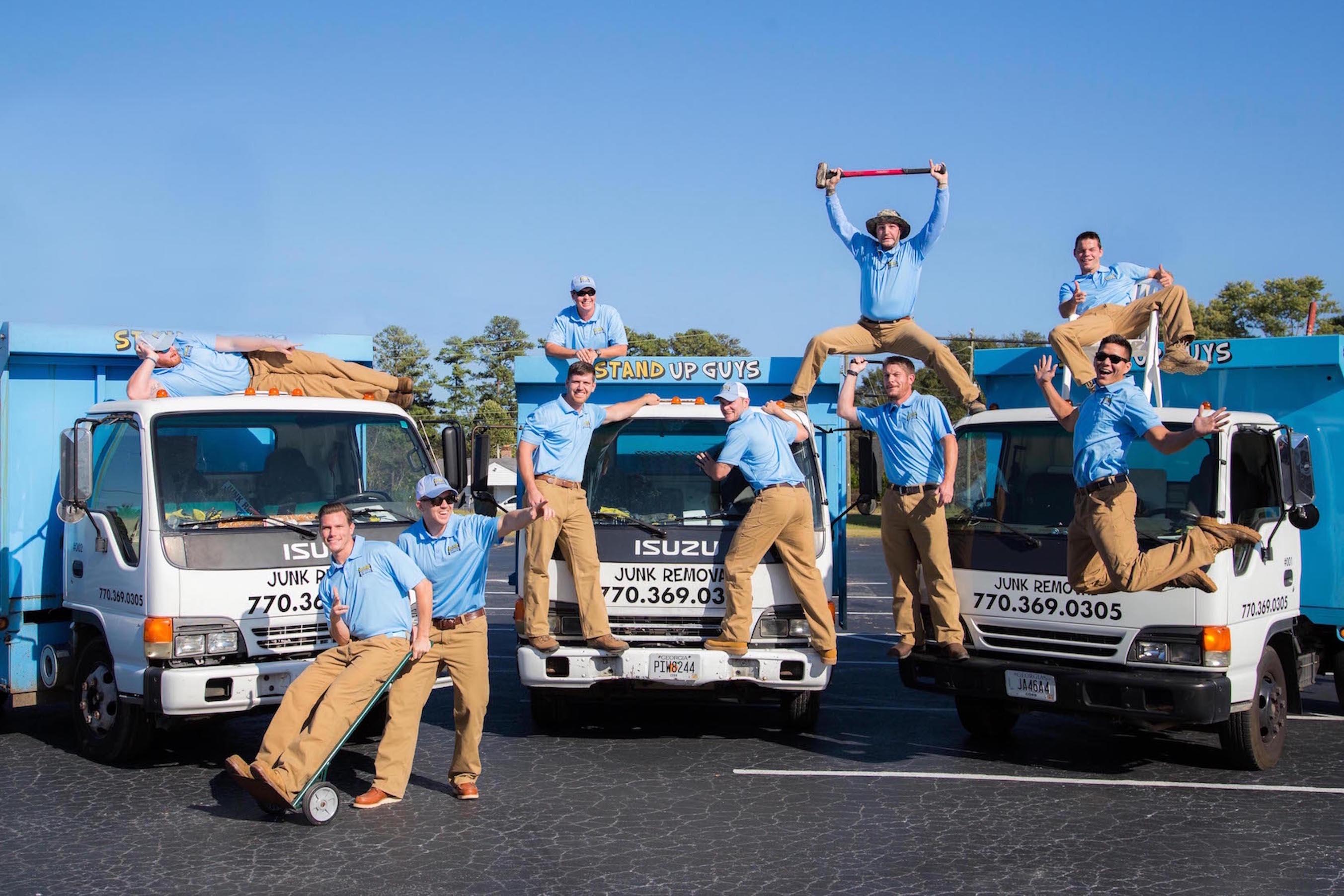 junk removal crew in north carolina