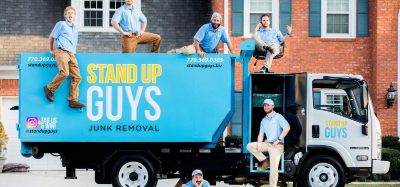 junk removal crew in the triangle of North Carolina