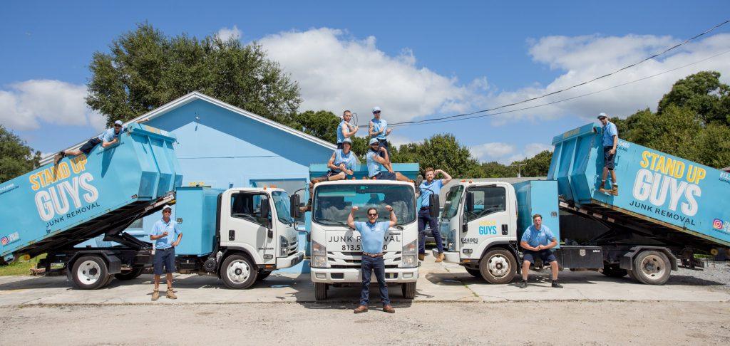 getting rid of junk in Huntersville