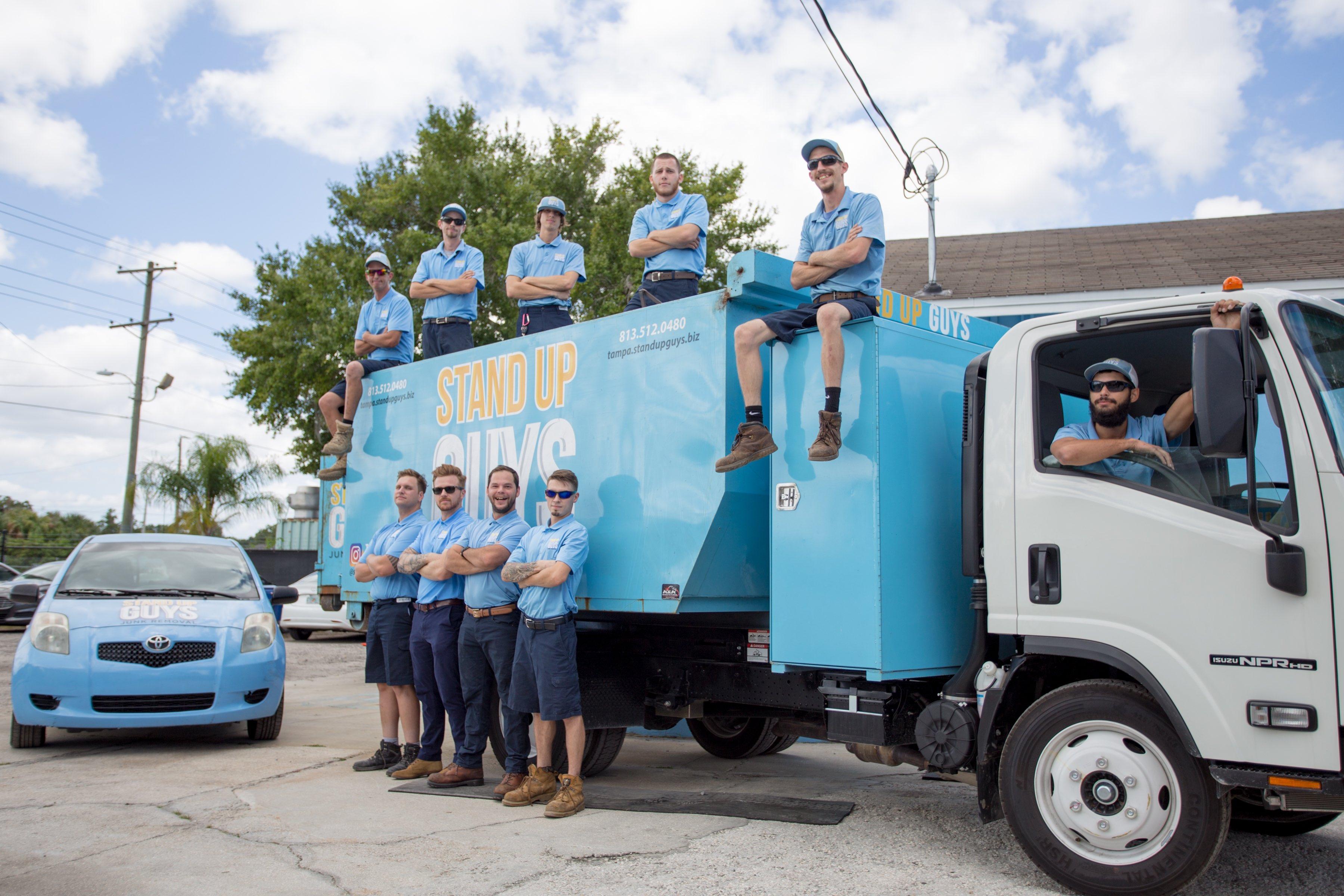 crew to remove junk in concord north carolina