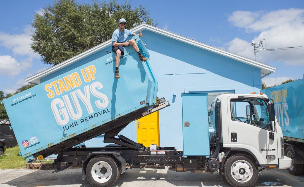 junk removal truck in gastonia