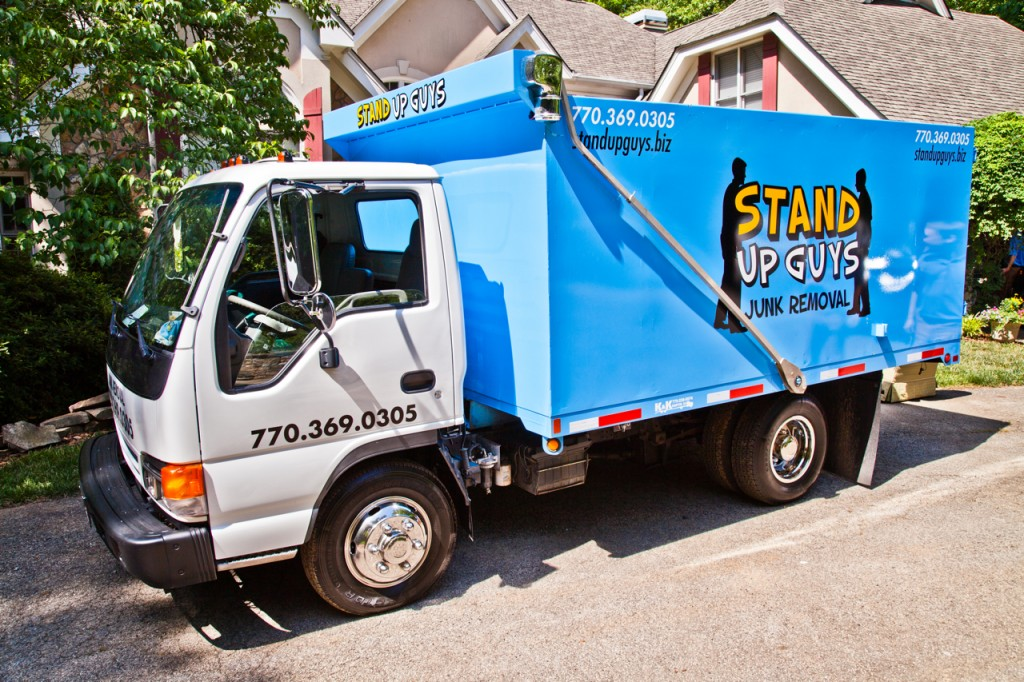 stand up guys junk removal truck