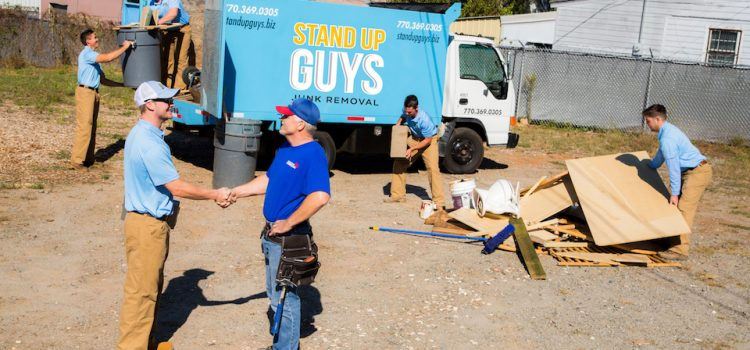 stand up guys junk removal crew in addison texas