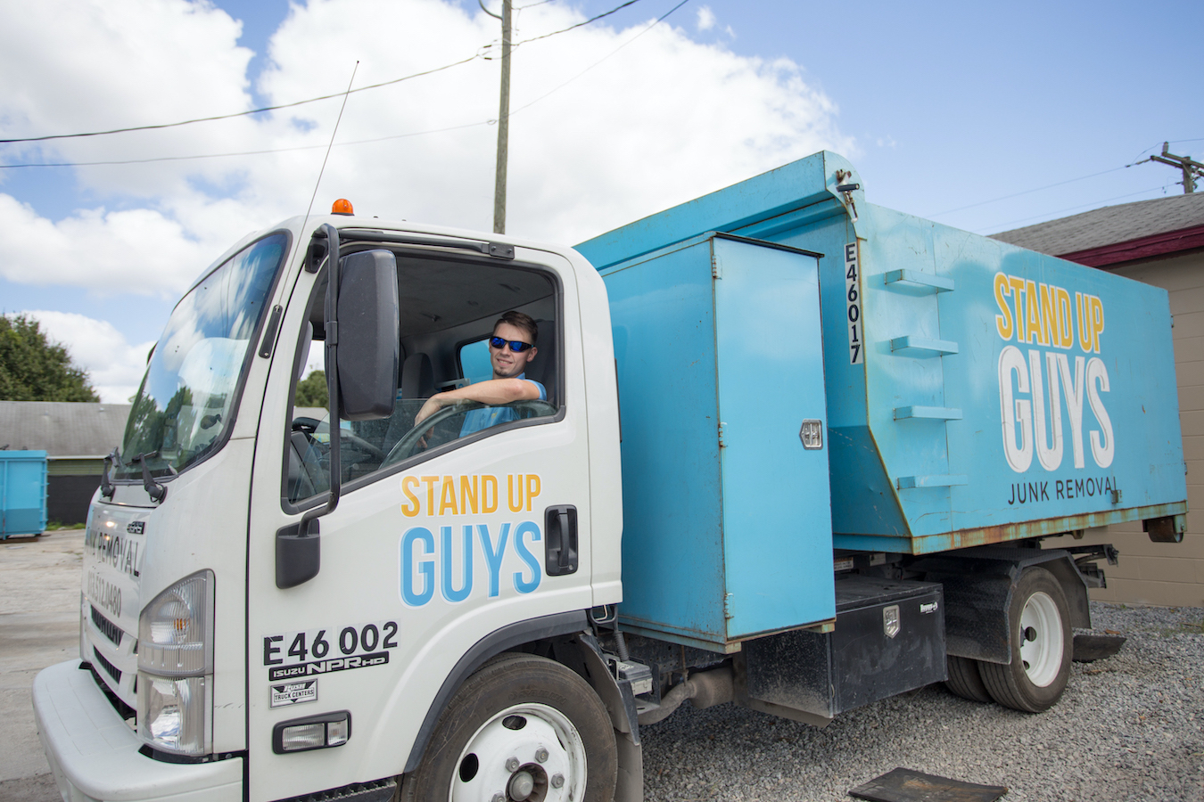 getting rid of junk in Del Valle