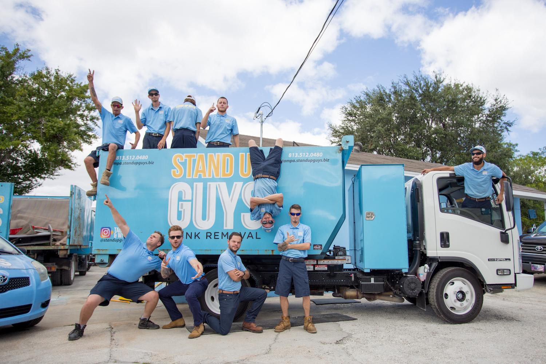 junk removal company Del Valle