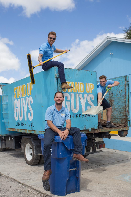 North Austin junk removal crew