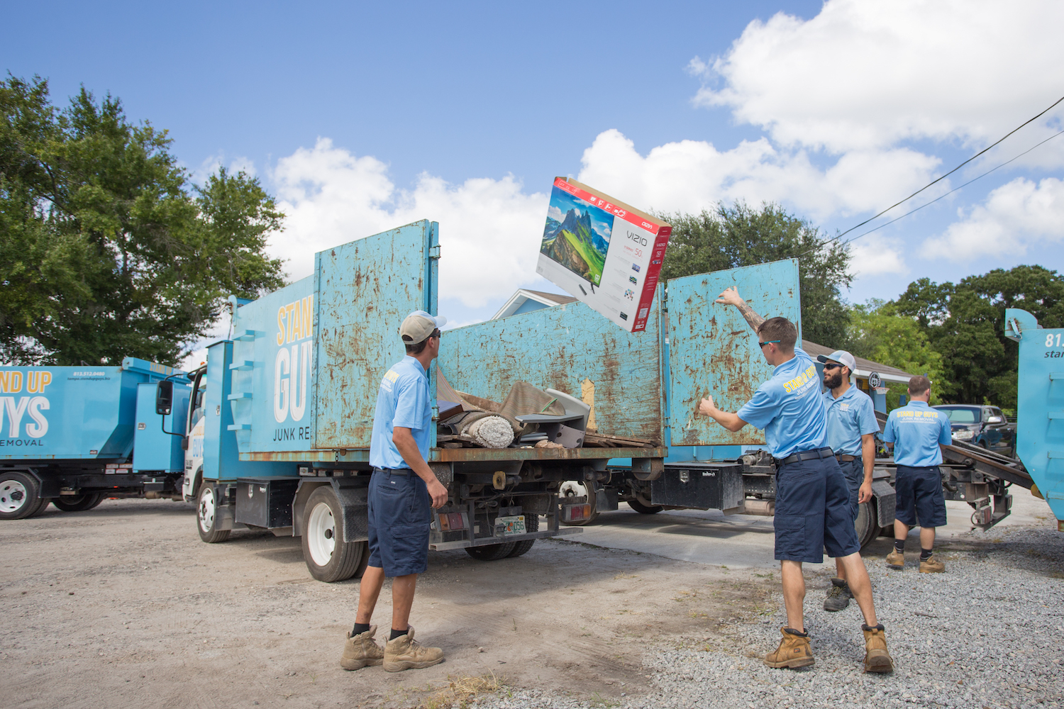 getting rid of junk in PFLUGERVILLE