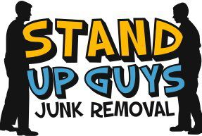The Stand Up Guys Junk Removal Logo