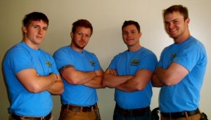 The Stand Up Guys Junk Removal Crew, from Atlanta
