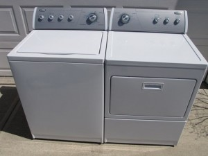 Junk Washer & Dryer Removal with the Stand Up Guys