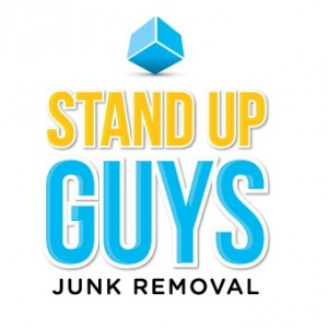 stand up guys junk removal logo