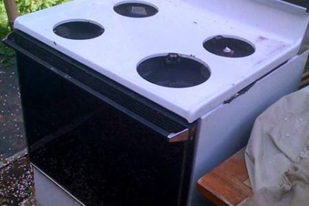 junk oven removal from household