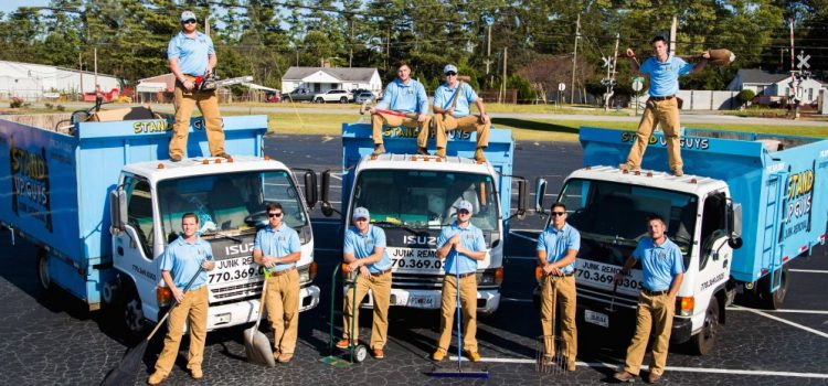 Basement Cleaning Service | Stand Up Guys Junk Removal