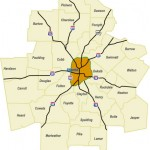Stand Up Guys Metro Atlanta Map