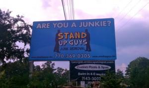 junk removal billboard