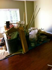 Remodeling leftover junk removal