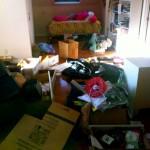 living room full of junk in Kennesaw