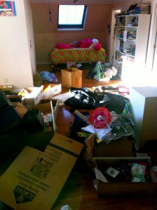 living room full of junk in Kennesaw