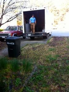 Household junk hauling from East Atlanta