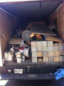 Junk removed from Grant Park Home garage`
