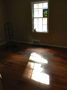 Carpet removed in East Atlanta