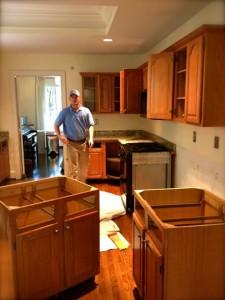 kitchen demolition and junk hauling