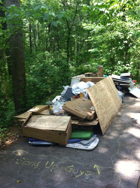 driveway junk in Midtown
