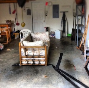Garage full of junk in north buckhead