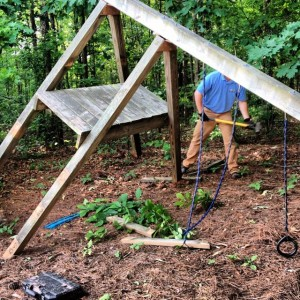 Playset removal and demo in Alpharetta