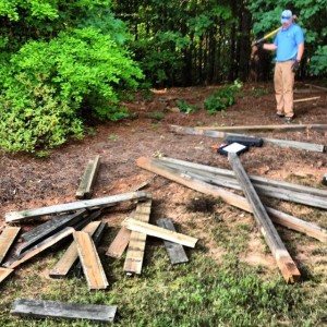 Playset in Alpharetta torn down