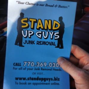 stand up guys junk hauling in Atlanta