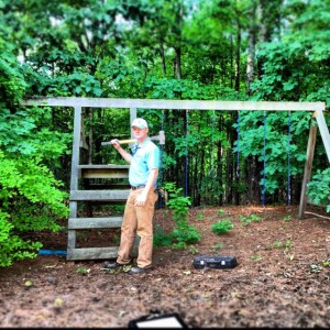 playset removal at Alpharetta home with Stand Up Guys