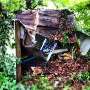 old shed removal and hauling in Sandy Springs