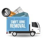 Swift junk removal truck