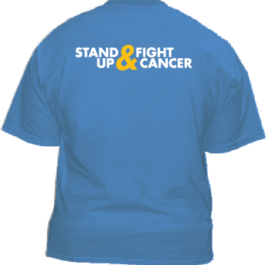 stand up and fight childhood cancer