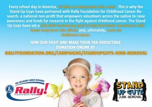 stand up guys fighting childhood cancer