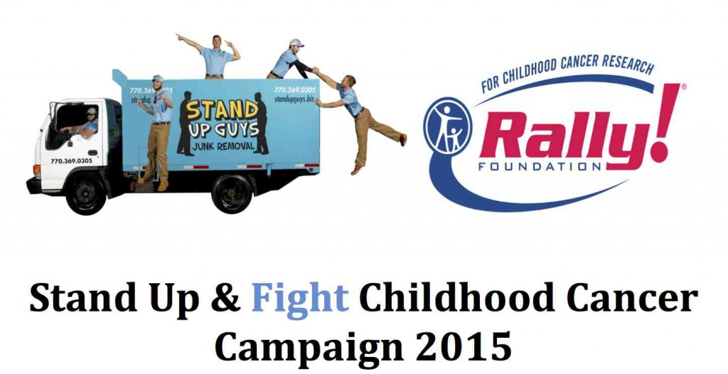 Stand Up & Fight Childhood Cancer Campaign