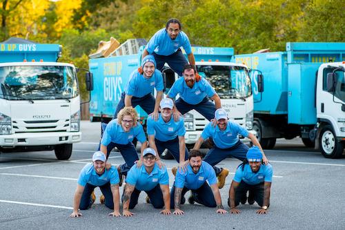 trampoline removal crew