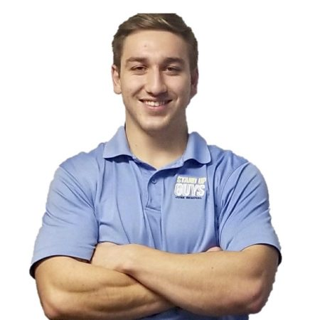 dylan angelini manager of stand up guys junk removal raleigh