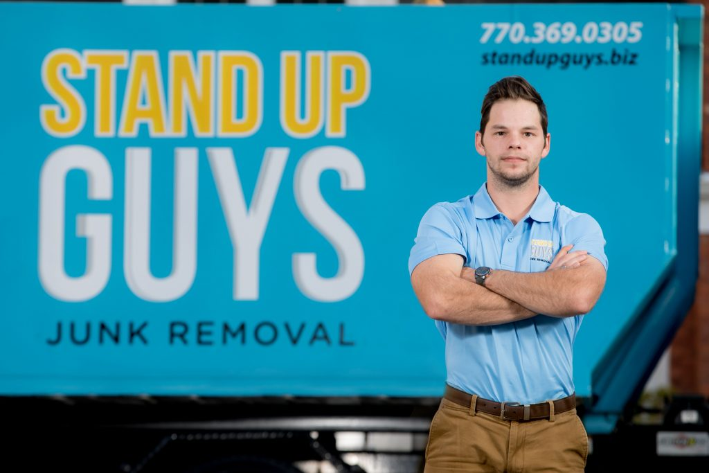 stand up guys junk removal tampa manager